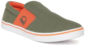 Sneakers Shoes For Unisex ( Green;Orange;White )