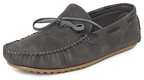 Men Grey  Loafers