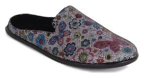 Ustep Multicolor Casual Round Toe Slippers for Women