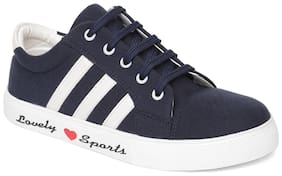 V2 Women Navy Blue Casual Shoes