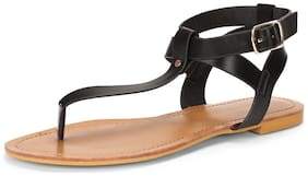 Van Heusen Women Black Sandals