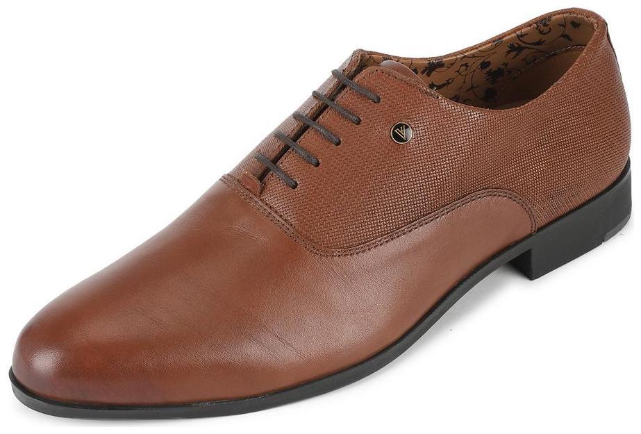 Buy Van Heusen Men Brown Derby Formal