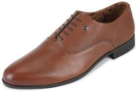 Van Heusen Brown Lace Up Shoes For Men