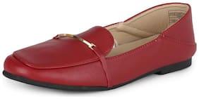 Van Heusen Women Red Casual Shoes -