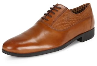fbacc87ae2 Buy Van Heusen Men Brown Formal Shoes - Vhss517a00021 Online at Low ...