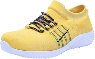 vasaca Men Yellow Casual Shoes - VCM-204