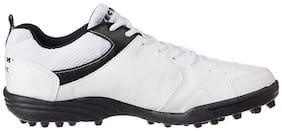 Vector X Men Blast White Cricket Shoes