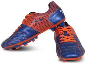 Vector X Breeze Football Shoes (Blue-Orange) (10)