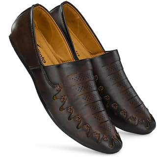 VELLINTO Men Brown Casual Shoes - ART_CA146BWN_7