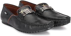 VELLINTO Men Black Loafers - ART_CA119BLK_7