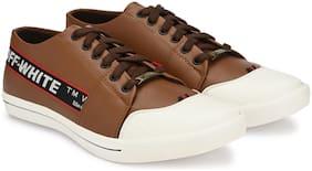 VELLINTO Men Brown Sneakers