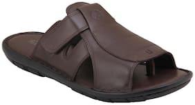 Ventoland Men's 100% Genuine Italian Leather Sandals
