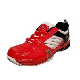 Vijayanti Men Non Marking Badminton/Squash Shoes (Multi-Color)