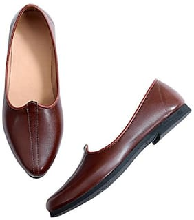 Vitoria Men Brown Ethnic