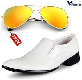 Vitoria Men White Formal Shoes