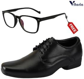 Vitoria Men Black Formal Shoes