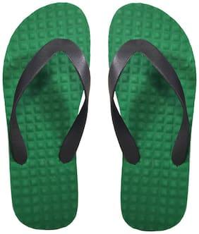Men Outdoor Slippers ( Green;Black )