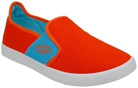 Vostro Men Orange Running Shoes