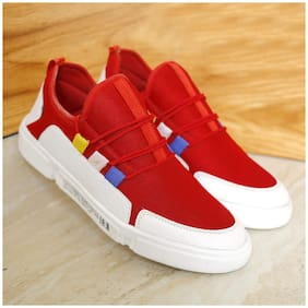 Walking Shoes For Men (RED)