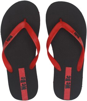 WeBe Men Black Flipflop & Outdoor Slippers