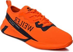 Weiler Men Running Shoes ( Orange )