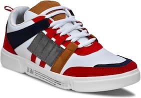 Weiler Men Running Shoes ( Red )
