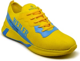 Sneakers Shoes For Men ( Yellow )