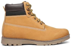 WEINBRENNER Men's Tan Ankle Boots