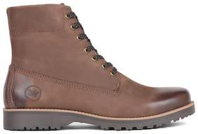 Men Brown Outdoor Boots