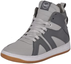 West Code Men Grey Sneakers