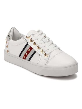 Truffle Collection Women White Casual Shoes