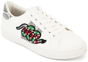 Truffle Collection White Sneakers & Sports Shoes