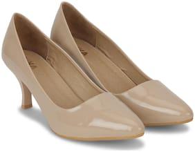 Wika Beige Heels For Women