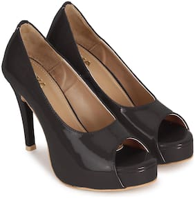 Wika Black Heel For Women