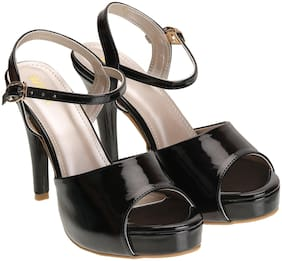 Wika Black Heels For Women
