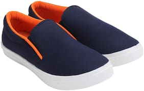 WIKA Men Blue Loafer
