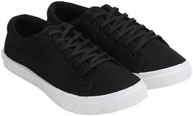 WIKA Men Black Sneakers