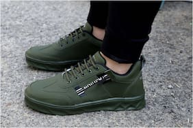 WIN9 Casual Shoes For Men ( Green )