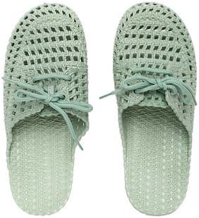 Women Flip Flops ( Green )