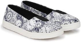 Imported Blue Women's Canvas Shoes