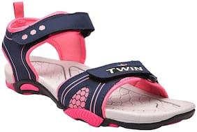Twin Women Pink Sandals
