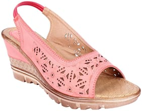 WOMENS BERRY Women Synthetic leather Slip on - Eu 40 , Peach