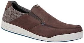 Woodland Brown Casual Shoes For Men