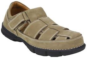 Woodland Men 1153112 Khaki Sandal