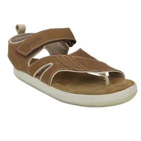 Woodland Men 1343113 Camel Sandals