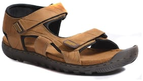 Woodland Men Yellow Sandals