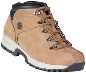 Woodland Men's Cream Outdoor Boots