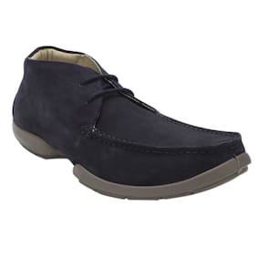 Woodland Men 1404114 Navy Casual Shoes