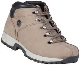 Men Khaki Outdoor Boots