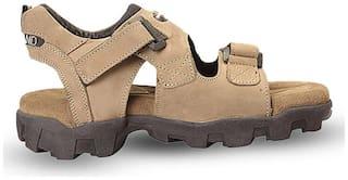 Woodland Men Beige Sandals